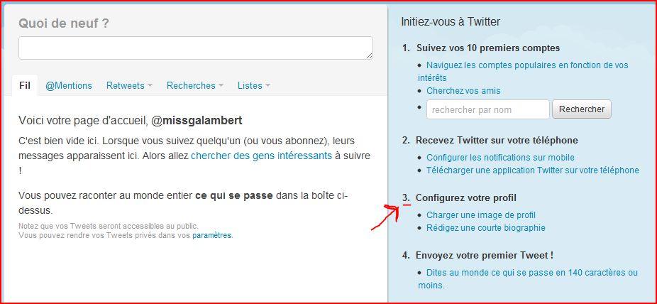 slide 6 Comment créer un compte Twitter, 5 étapes en images