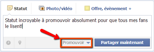 Facebook promoted posts Facebook promoted posts: un outil diablement efficace pour booster votre page pro