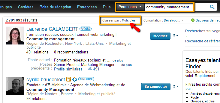 profil Linkedin Easy Social Media