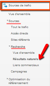 tutoriel Google analytics mot-clés