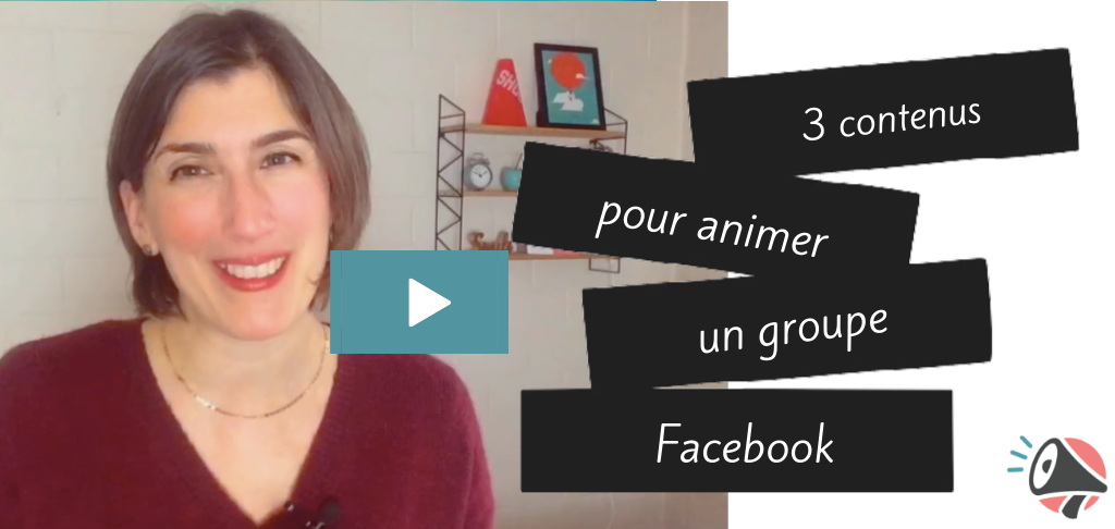 animer un groupe Facebook