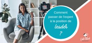 expert ou leader